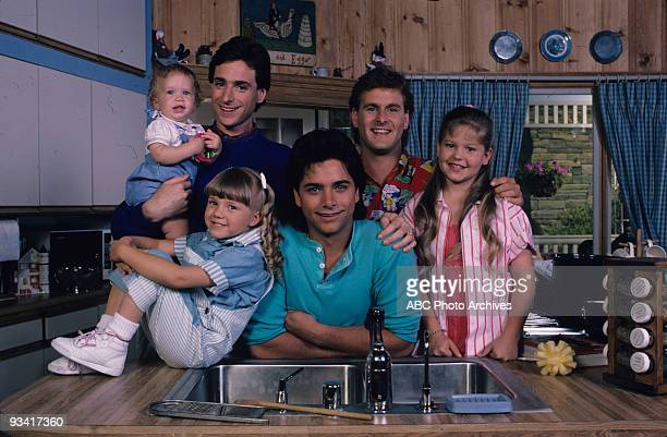 HOUSE 'Our Very First Show' Pilot Season One Gallery 9/22/87 Bob Saget played widower Danny Tanner the father of three girls from left Michelle...
