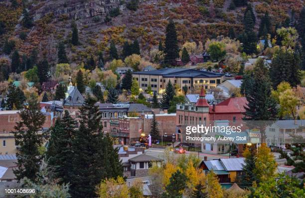 Ouray in the Fall