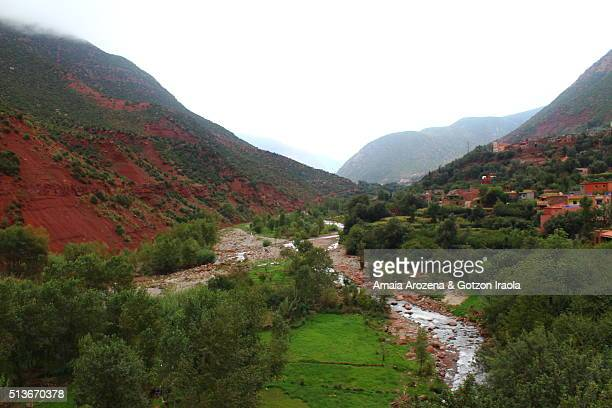 Ourika Valley in High Atlas