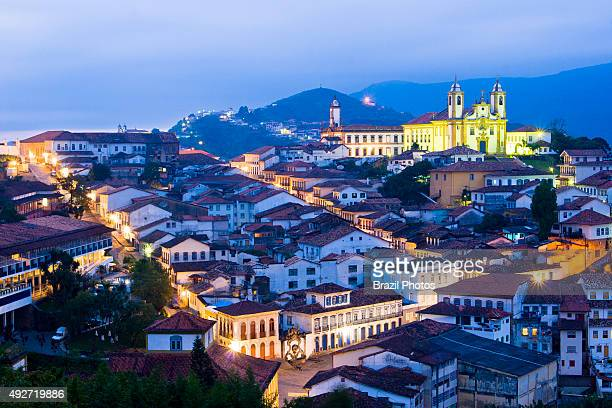 Ouro Preto is a city in the state of Minas Gerais Brazil a former colonial mining town located in the Serra do Espinhaço mountains and designated a...