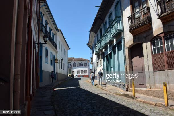 ouro preto - world heritage site - preto stock pictures, royalty-free photos & images