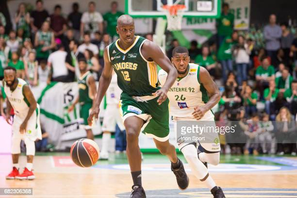 Ousmane Camara of Limoges during the Pro A match between Nanterre and Limoges on May 6 2017 in Nanterre France
