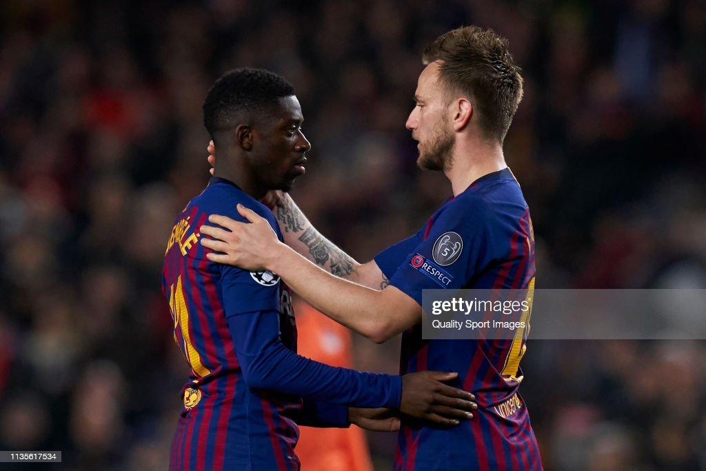 FC Barcelona v Olympique Lyonnais - UEFA Champions League Round of 16: Second Leg : ニュース写真