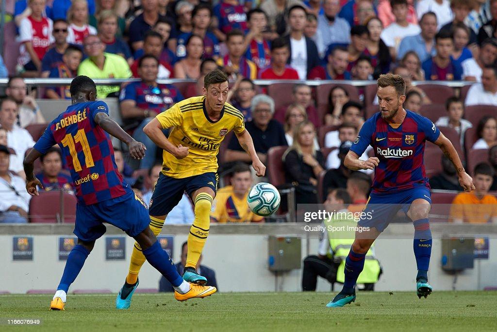 FC Barcelona v Arsenal - Pre-Season Friendly : ニュース写真