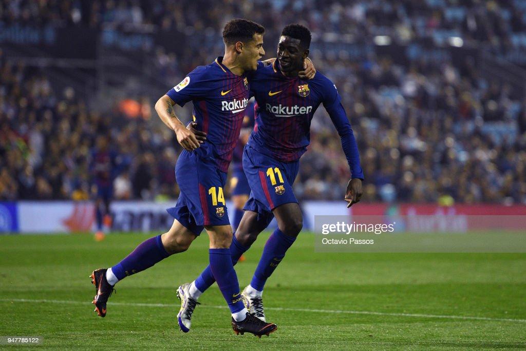Celta de Vigo v Barcelona - La Liga : News Photo