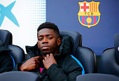 ousmane dembele during match between fc