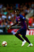 ousmane dembele during week la liga