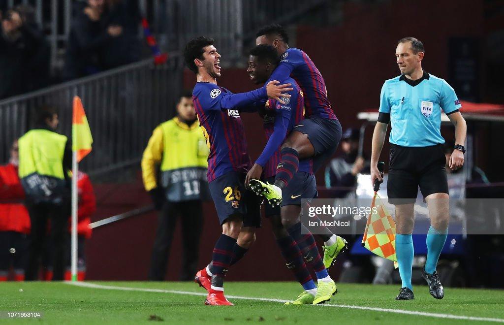 FC Barcelona v Tottenham Hotspur - UEFA Champions League Group B : ニュース写真