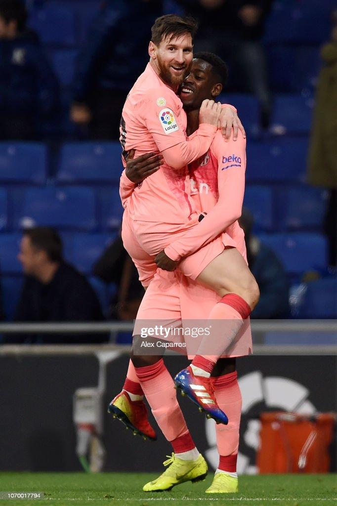 RCD Espanyol v FC Barcelona - La Liga : Foto jornalística