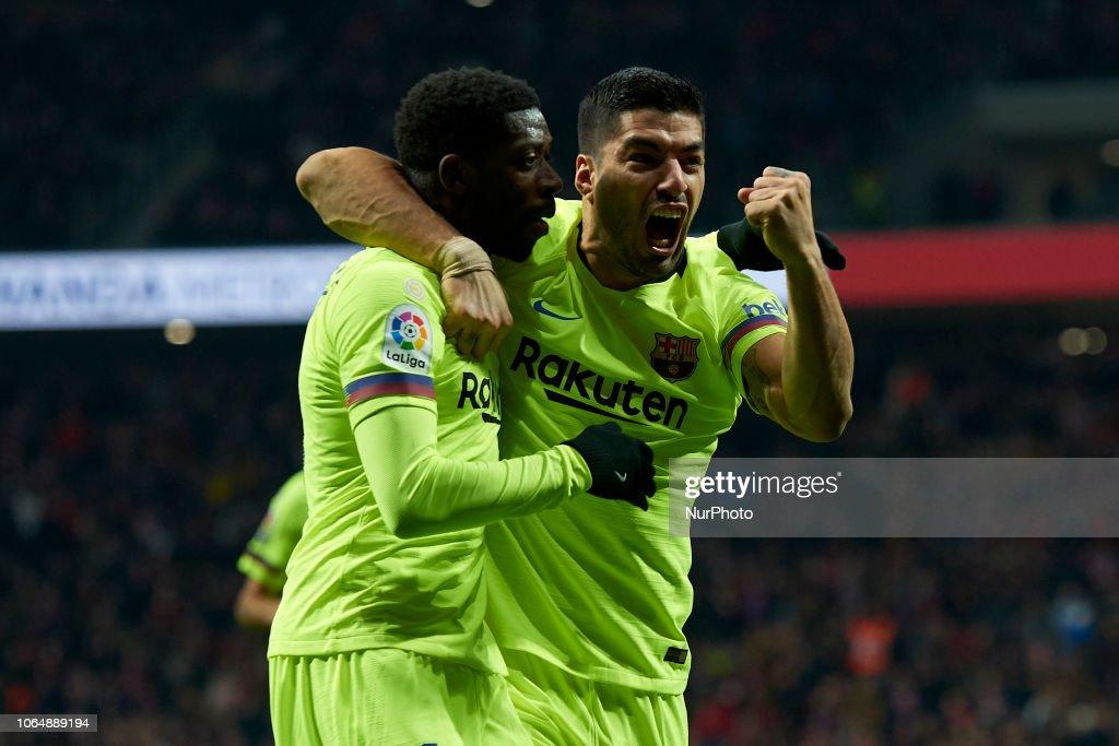 Club Atletico de Madrid v FC Barcelona - La Liga : ニュース写真