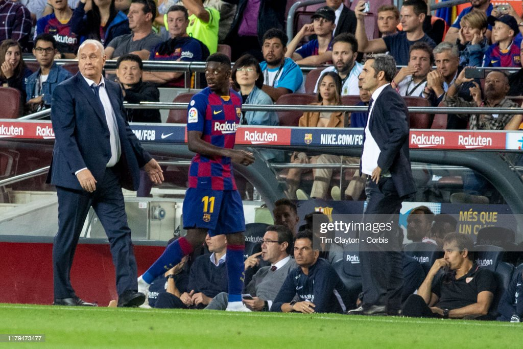Barcelona V Sevilla, La Liga regular season. : News Photo