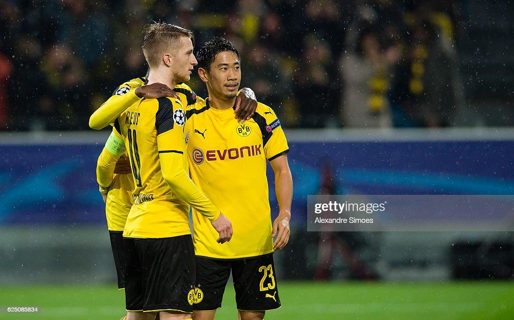 Borussia Dortmund v Legia Warszawa - UEFA Champions League : News Photo