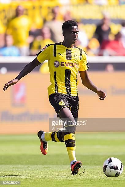 Ousmane Dembele of Borussia Dortmund during the Bundesliga match between Borussia Dortmund and FSV Mainz on August 27 2016 at the Signal Iduna Park...