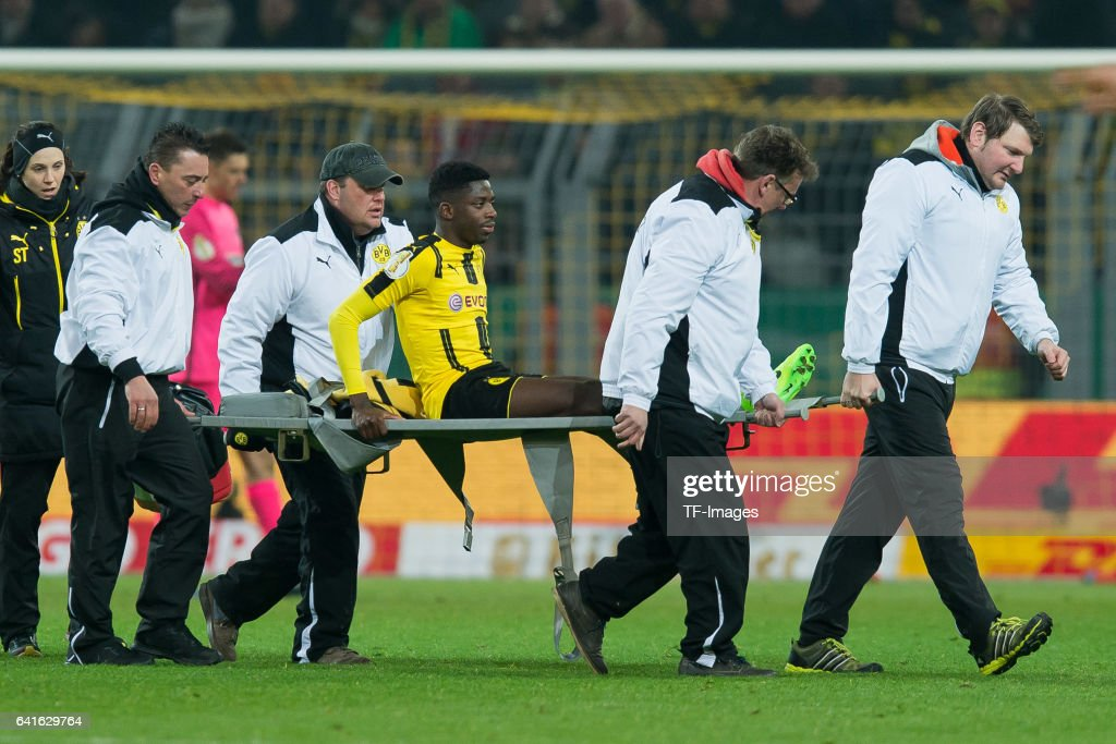 Match Day Thread - Page 31 Ousmane-dembele-of-borussia-dortmund-is-stretchered-off-the-field-picture-id641629764