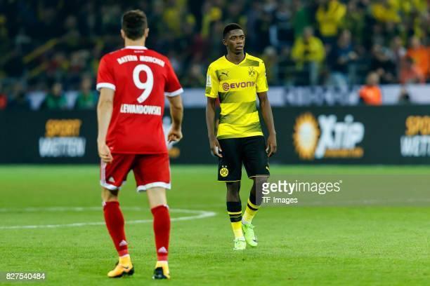 Ousmane Dembele of Dortmund looks on Foto Roland Krivec/DeFodide