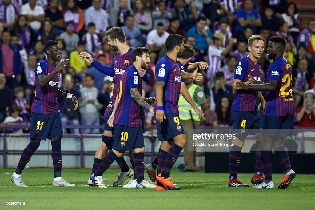 Real Valladolid CF v FC Barcelona - La Liga : ニュース写真