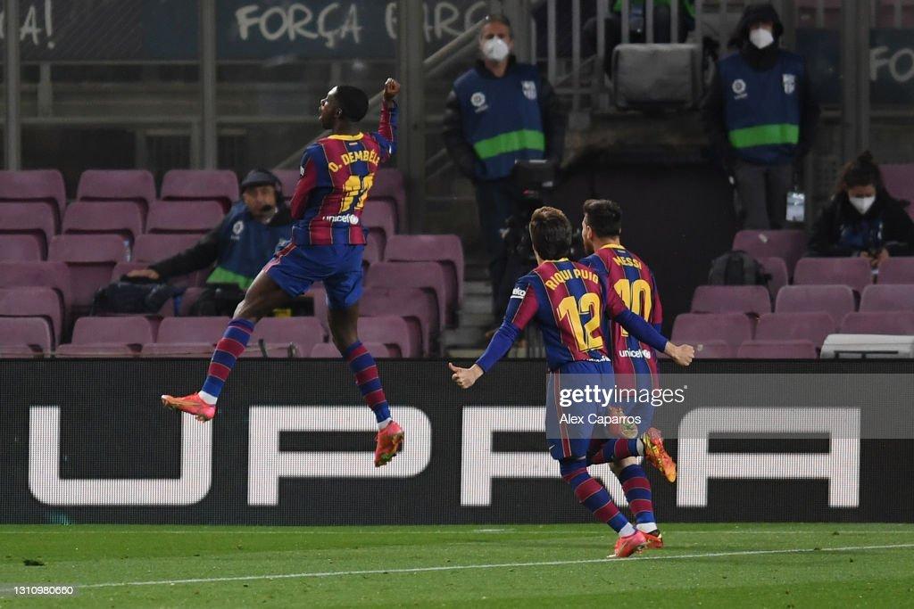 FC Barcelona v Real Valladolid CF - La Liga Santander : News Photo