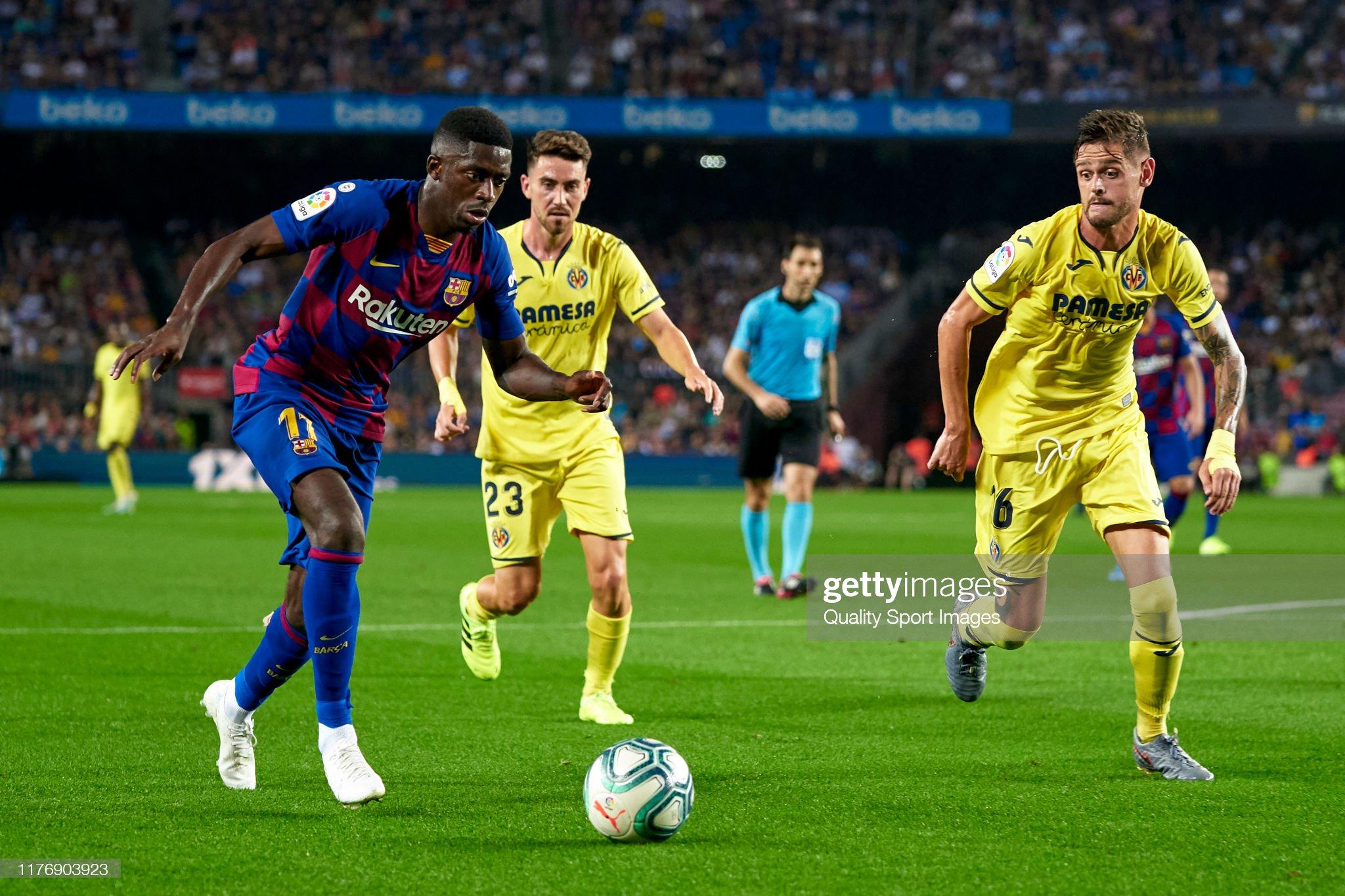 صور مباراة : برشلونة - فياريال 2-1 ( 24-09-2019 )  Ousmane-dembele-of-fc-barcelona-competes-for-the-ball-with-funes-mori-picture-id1176903923?s=2048x2048
