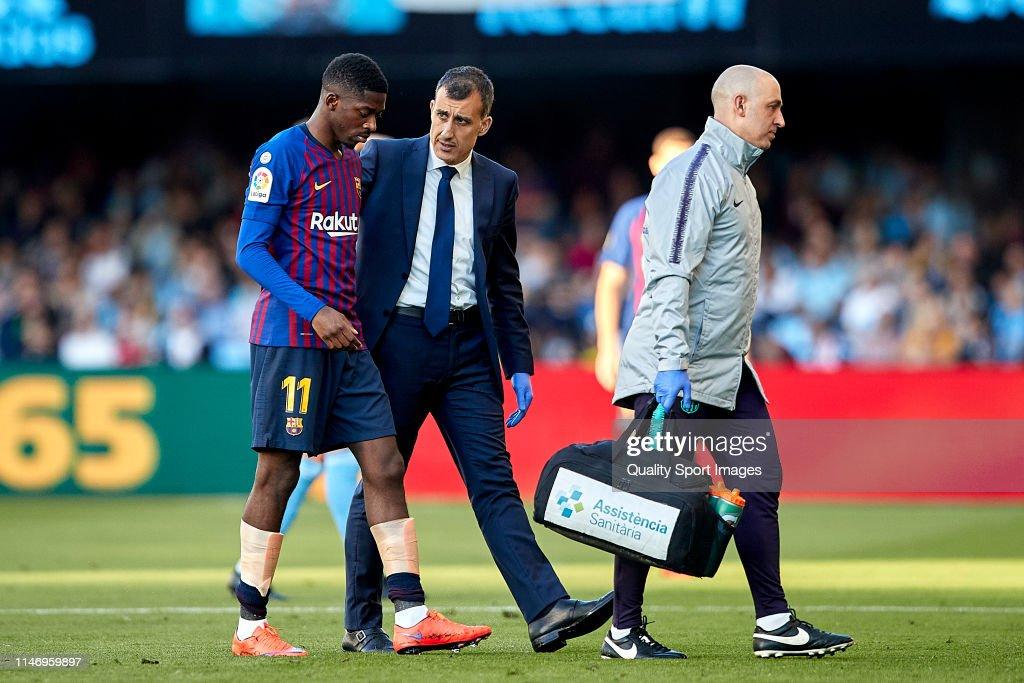 RC Celta de Vigo v FC Barcelona - La Liga : News Photo