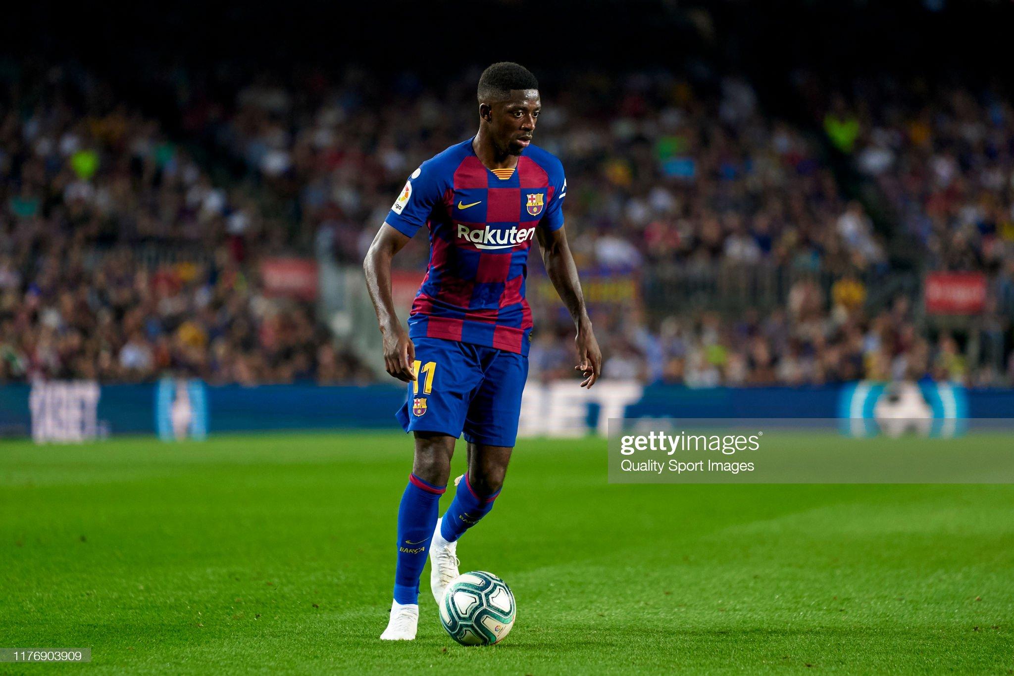 صور مباراة : برشلونة - فياريال 2-1 ( 24-09-2019 )  Ousmane-dembele-of-fc-barcelona-with-the-ball-during-the-liga-match-picture-id1176903909?s=2048x2048