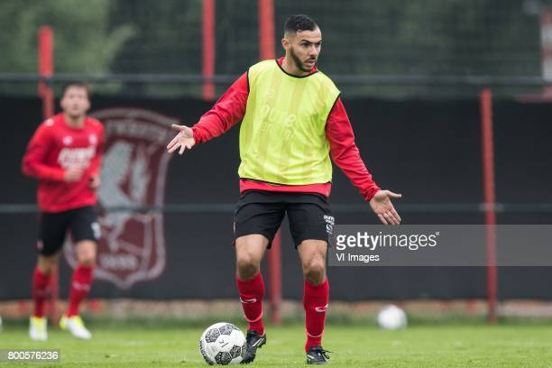 Oussama Assaidi of FC Twenteduring a training session at Trainingscentrum Hengelo on June 24 2017 in Hengelo The Netherlands