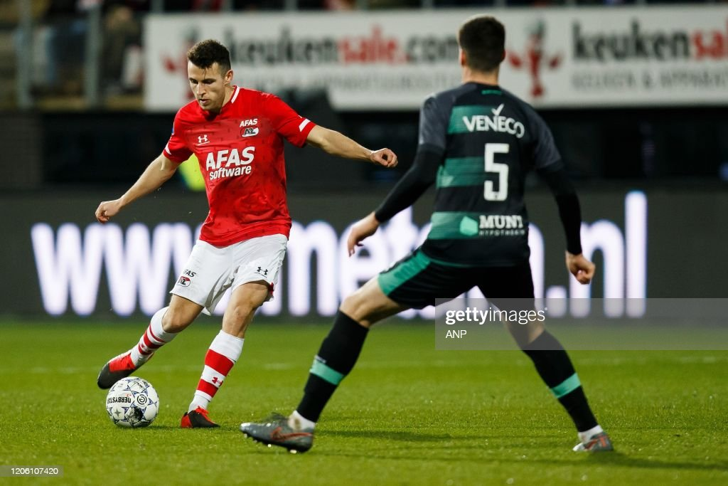 Oussama Idrissi Of Az Tudor Baluta Of Ado Den Haag During The Dutch News Photo Getty Images