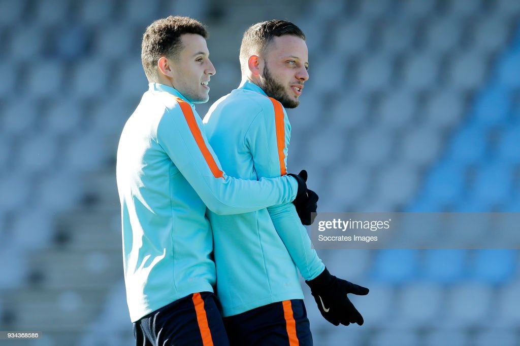 Netherlands U21 Training session
