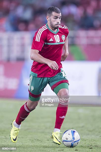 Oussama Tannane of Morocco during the Africa Cup of Nations match between Morocco and Sao Tome E Principe at September 4 2016 at the Complexe Sportif...