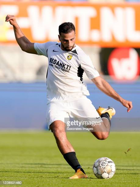 Oussama Tannane of Vitesse during the Dutch Eredivisie match between RKC Waalwijk v Vitesse at the Mandemakers Stadium on September 13, 2020 in...