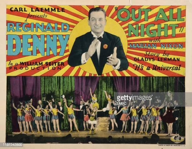 Out All Night lobbycard Reginald Denny 1927