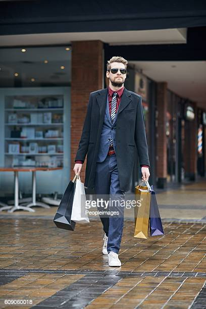Out and about on a serious shopping spree