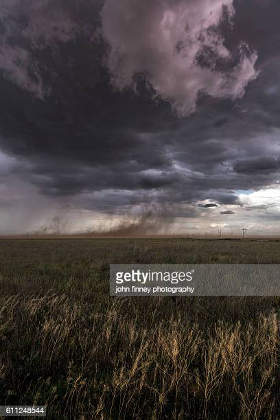 Out flow from a supercell thunderstorm in Colorado. USA