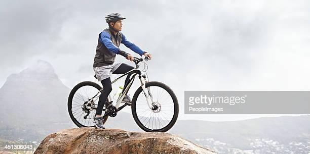 Für eine Mountainbike-Tour