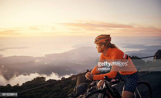 out for a scenic cycle - bicycle stock pictures, royalty-free photos & images