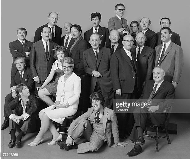 Out Group commissioned by Jocelyn Stevens on 29th June 1967 Billy Walker David Jacobs Geoffrey Keating Cyril Lord Robert Pitman George Wigg Anthony...