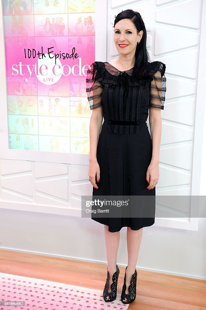 """Out Mom Out"" Star Jill Kargman Appears On Amazon's Live Stream Fashion And Beauty Show, Style Code Live, Celebrating It's 100th Episode In New York City"