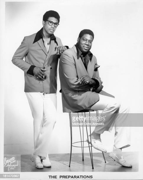 2 out of 3 members of the soul group 'The Preparations' which included Frank McLeod Gregory Reel and Henry Sollis and recorded the song 'GetEUp ' in...