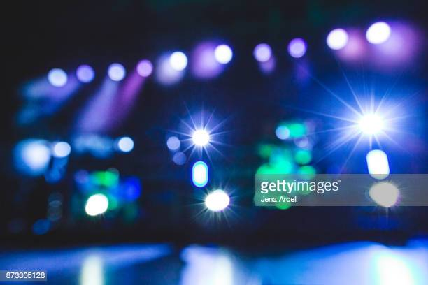 out of focus background - palco - fotografias e filmes do acervo