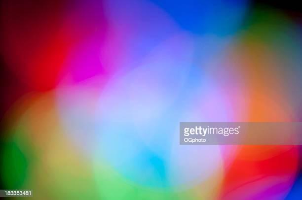 out of focus bunten lichter - ogphoto stock-fotos und bilder