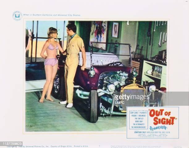 Out Of Sight lobbycard Karen Jensen 1966