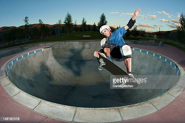 out of the bowl - skating stock pictures, royalty-free photos & images