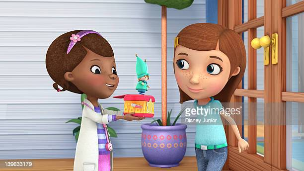 DOC MCSTUFFINS 'Out of the Box' Doc's JackintheBox patient Little Jack is scared about getting a checkup until Doc reassures him that his dad Big...