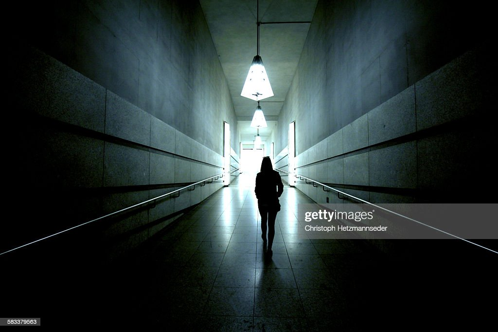 Out of the dark : Stock Photo