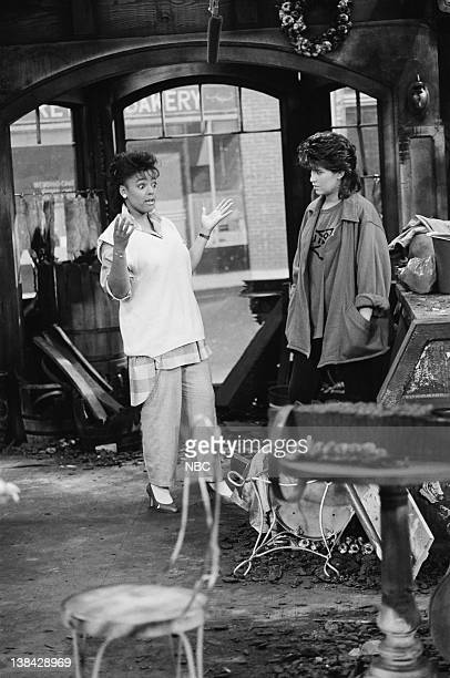 LIFE Out of the Fire Episode 7 Pictured Kim Fields as Dorothy 'Tootie' Ramsey and Nancy McKeon as Joanne 'Jo' Polniaczek Bonner
