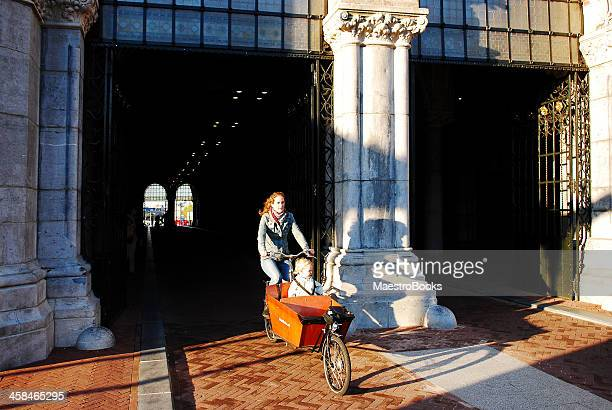 out of the tunnel with art. - rijksmuseum stock photos and pictures