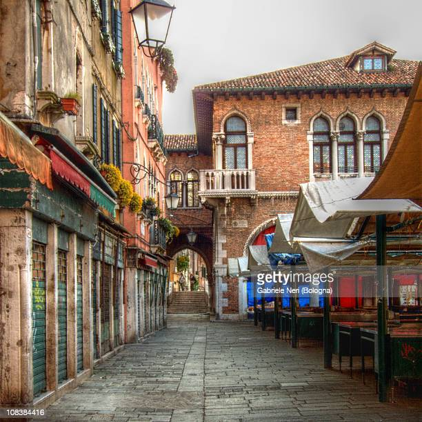 Out of time  Market place in Venice