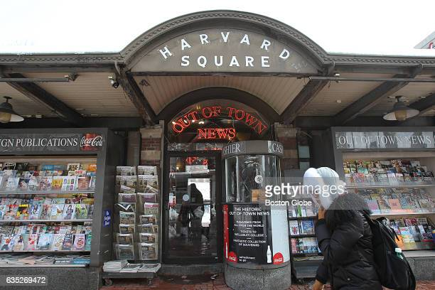 Out of Town News in Cambridge MA's Harvard Square is pictured on Feb 13 2017