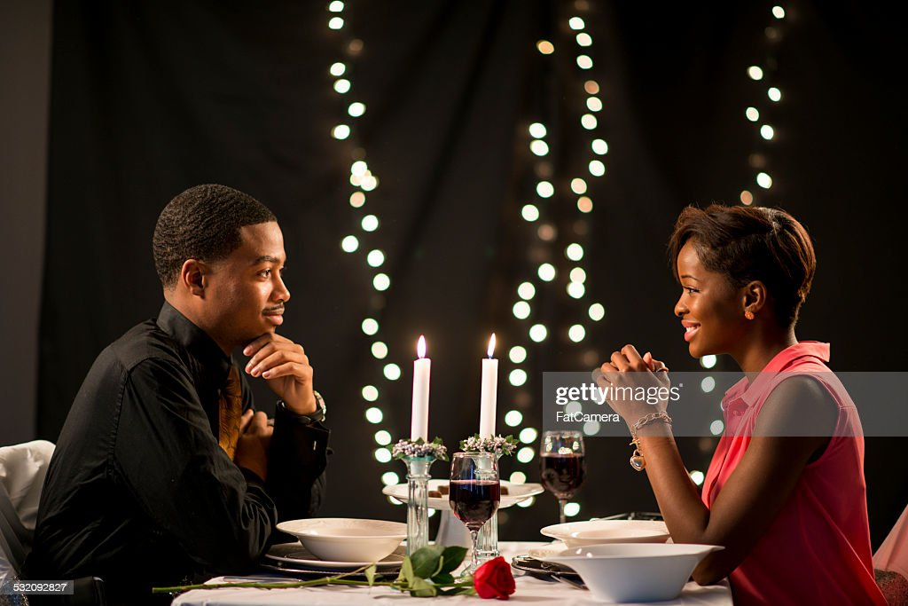 Out on a Date : Stock Photo