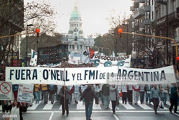 'Out O'Neill and the IMF from Argentina'
