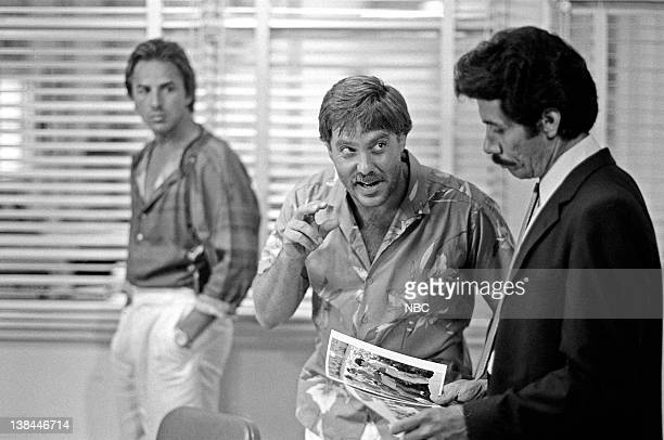 VICE Out Where The Buses Don't Run Episode 3 Air Date Pictured Don Johnson as Detective James 'Sonny' Crockett Bruce McGill as Hank Weldon Edward...